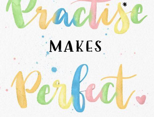 Practice makes perfekt