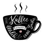schwarzer Kaffee 2018
